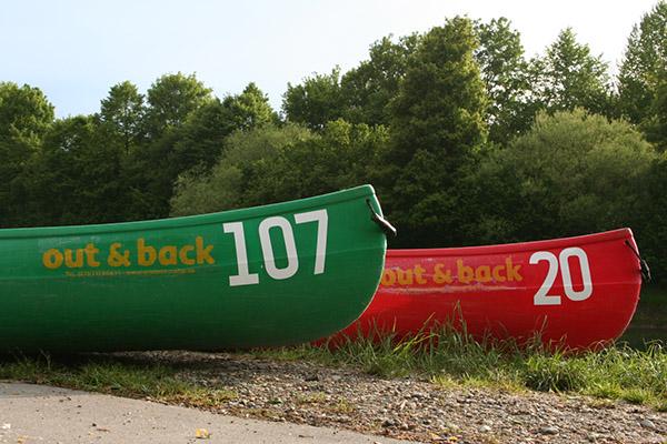 Boote für Ihre Kanu-Tour